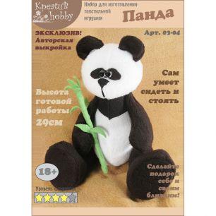 Набор для изготовления игрушки «Панда» 03-04